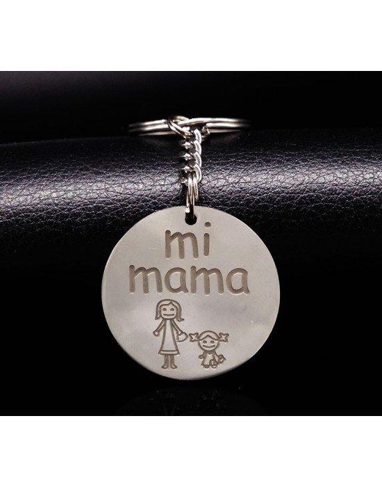 """LLAVERO PERSONALIZADO """"MI MAMA"""""""