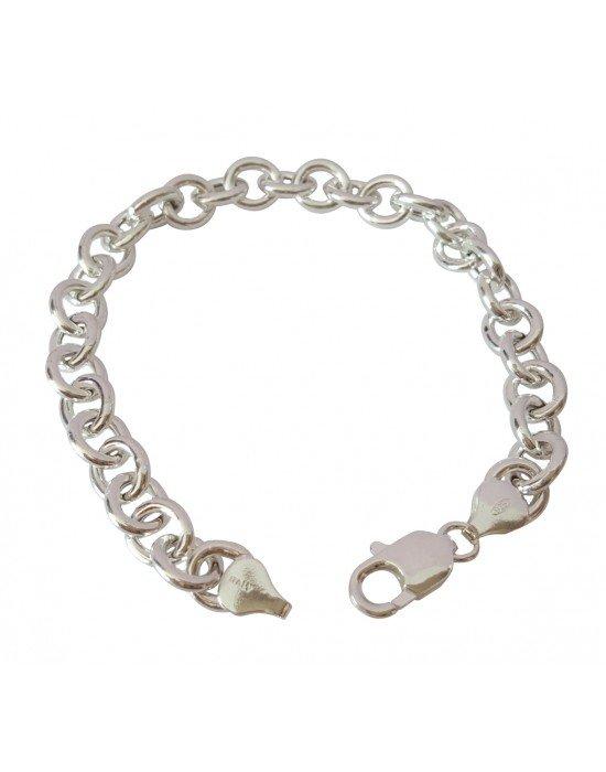Pulseras para colgar abalorios pulseras rolo plata for Tipos de pulseras