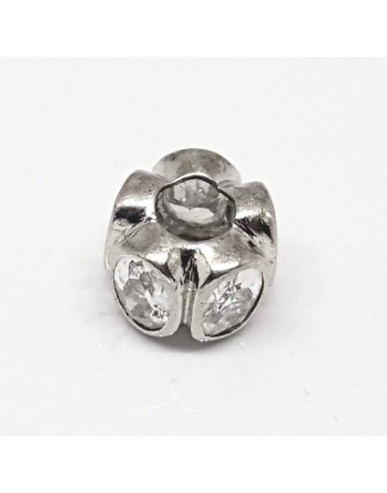 abalorios de plata estilo pandora