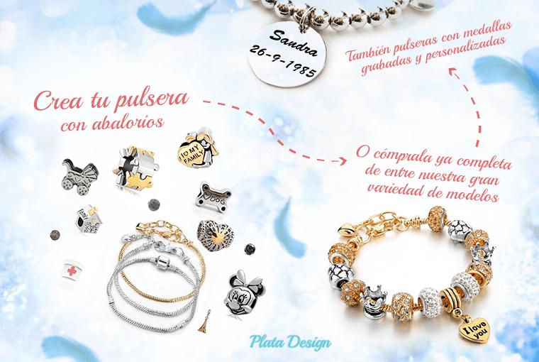 crea tus pulseras con abalorios en plata-design.es