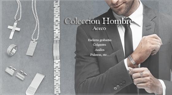 Colección hombre en plata-design.es