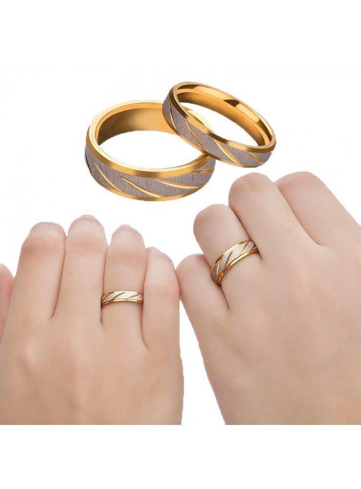 grabado alianzas de acero inoxidable incl 2 anillos de pareja 255hh alianzas de bodas anillos