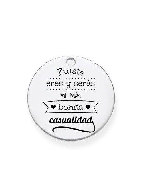 """CHAPA PRE-GRABADA """"FUISTE ERES Y SERÁS MI MÁS BONITA CASUALIDAD"""""""