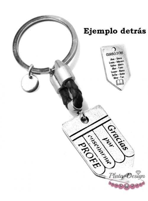 LLAVERO PARA PROFESORES CON SACAPUNTAS PERSONALIZADO