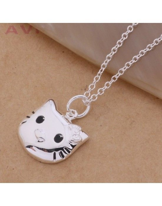 "COLGANTE ""HELLO KITTY"" CON PLATA 925"