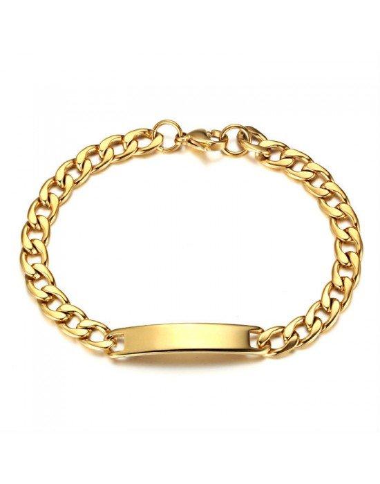 1c63b150e5f4 Esclavas para mujer ♥ Esclavas acero y oro ♥ Esclavas con nombre