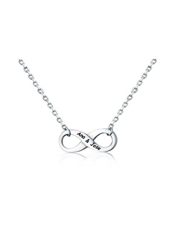 7291a9ca0a4d Collar infinito acero ♥ Colgante infinito acero ♥ Símbolo infinito