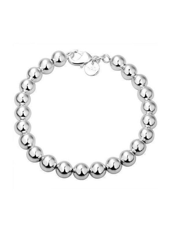 4f1fca5d43ab Pulseras bolas de plata ♥ Pulseras de plata bolas baratas ♥