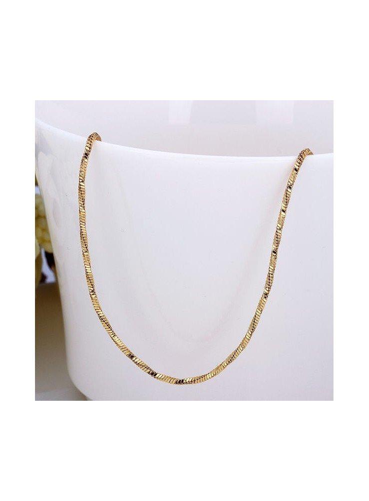 442b6948c075 Cadenas oro blanco ♥ Cadenas finas para mujer