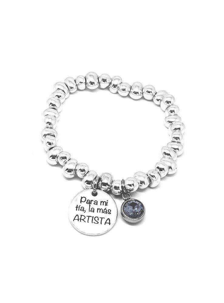 22919afefa32 Pulseras personalizadas ♥ Pulseras de zamak ♥ Pulseras con medallas