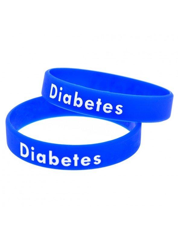 PULSERA DIABETES SILICONA (3 COLORES)